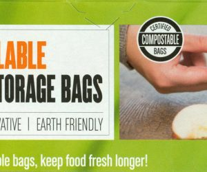 BioBag Resealable Food Storage Bag Box
