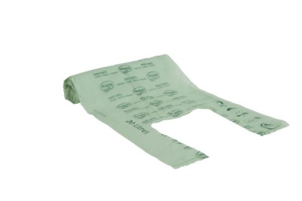 BioBag 20L roll of bags (Singlet style)