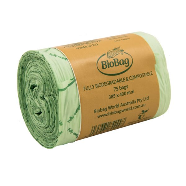 BioBag 8L roll of 75 bags Carton