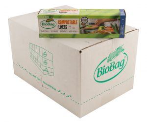BioBag 20L roll of bags (Singlet style) - Carton