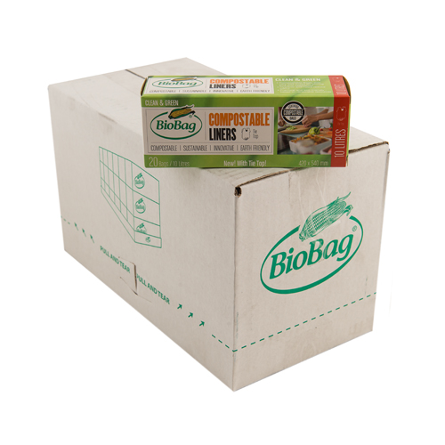 BioBag 10L roll of bags - Carton