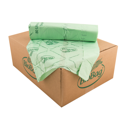 BioBag 80L Superline roll of bags Carton