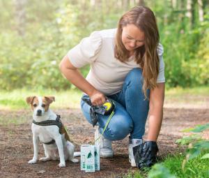composting pet poo and dog waste